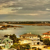 Dec 23<br /> Inlet<br /> A small inlet near the beach, adorned with beautiful beach front properties.