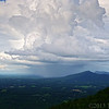 "Jul 9<br /> Summer storm<br /> <br /> We had a quick getaway from the hot temps of July 4th to our ""Lonely mountains."" Named such because they are not part of the larger Appalachian mountain chain a bit further west. The temps were a pleasant 75 degrees compared to the 91 we left behind at home. We had a lovely day enjoying scenic views at Pilot mountain. For those of you who know of the Andy Griffith show way back in the day, the city Mayberry was based on this area, where the residents often traveled to the city of Mt Pilot!"