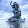 Oct 13<br /> N=Neptune, the Roman god of freshwater and the sea<br /> <br /> When I saw this statue at Virginia beach, I immediately knew how I wanted to post process it! Didn't occur to me at the time it would be my N day shot!