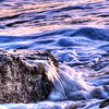Mar 26<br /> Caressed<br /> <br /> A rock is gently caressed by ocean waves. From the December Kure Beach NC archives. <br /> <br /> Thanks for viewing and commenting!!<br /> Have a lovely Tuesday!