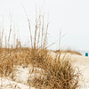 Feb 6<br /> Keep our beaches clean!<br /> <br /> A trash bin in the distance reminds us to keep our earth clean.