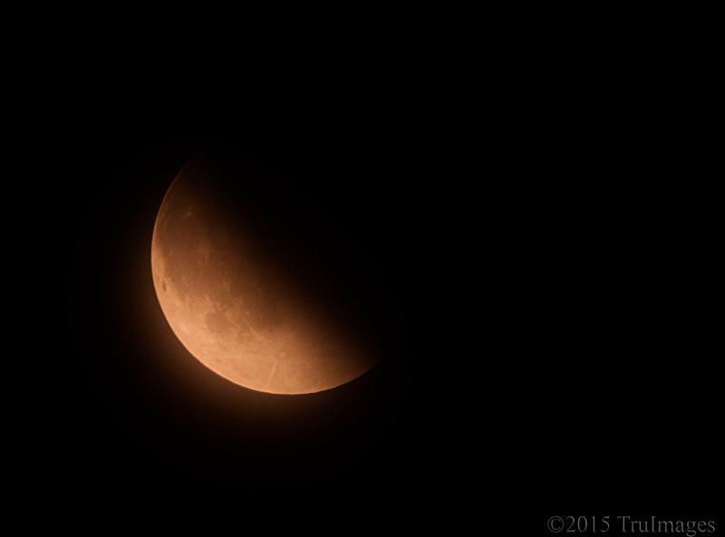 Supermoon + Eclipse