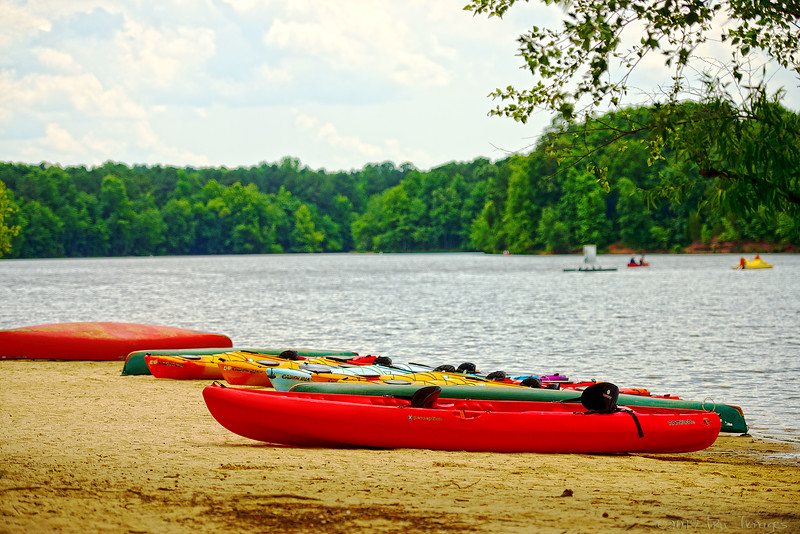 Kayaks Awaiting....