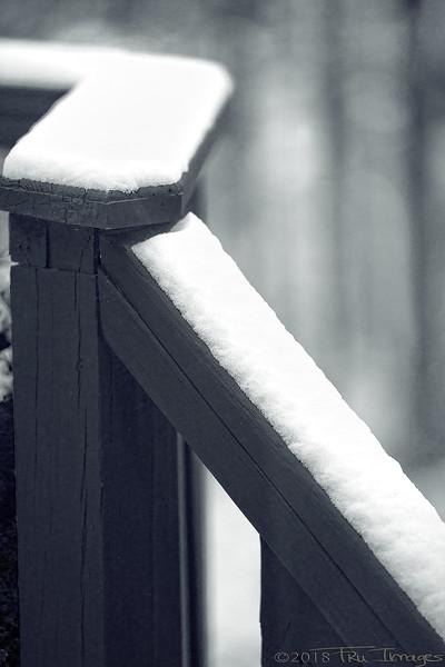 Monochromatic snow