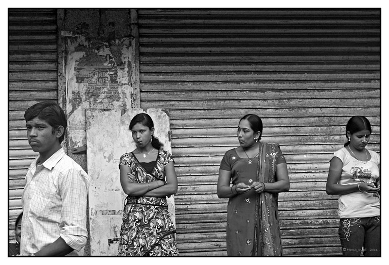 Passing by... <br /> Kamathipura, Mumbai<br /> <br /> Shot 'blind' with camera at waist level.