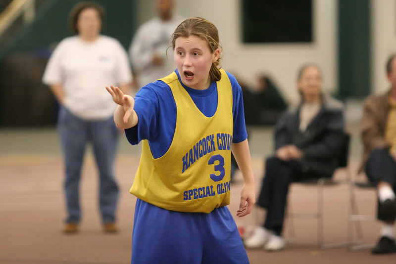 The 2008 Special Olympics Indiana Women's State Basketball tournament was held in the Indoor Track and Tennis Center at DePauw University March 1, 2008.  PHOTO BY ALEX TURCO