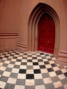 Church entrance, Charleston