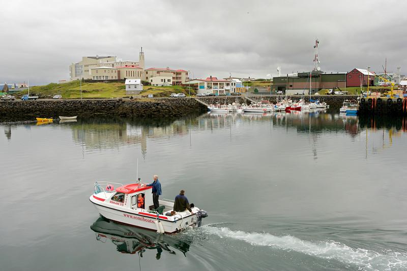 Port of Stykkisholmur, Snaefellsnes