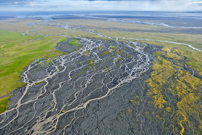 Braided River, Skeidararsandur