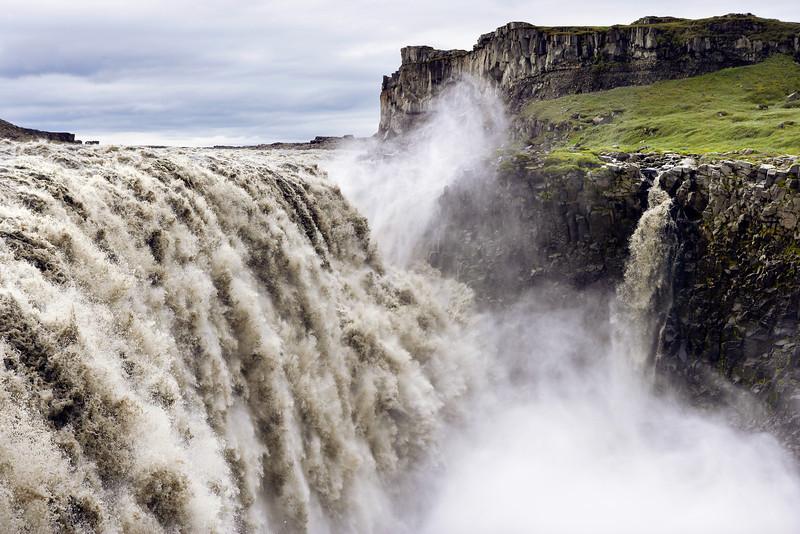 Dettifoss Water Falls