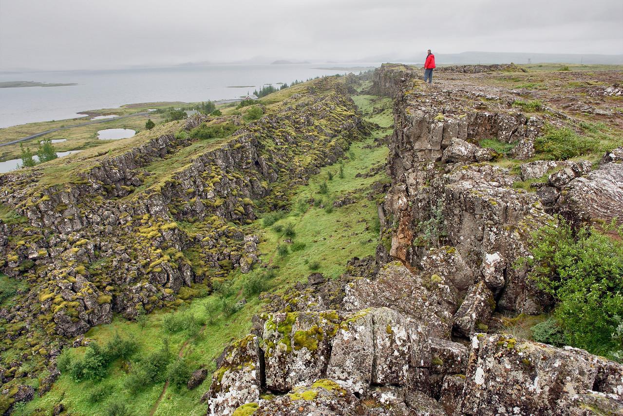 Thingvellir Fissure Zone
