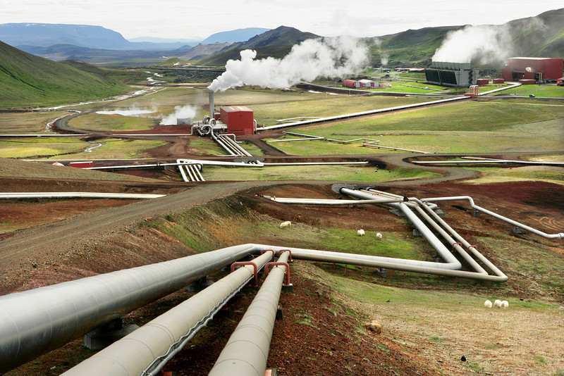 Krafla Geothermal Power Plant