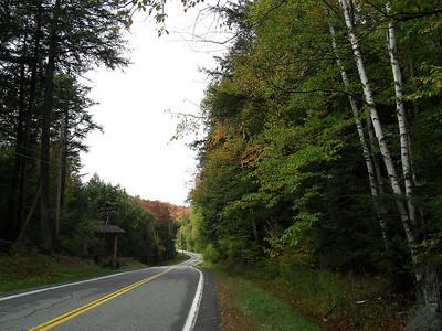 Forest Home Rd - a slight zig before climbing  the first hill