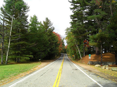 Forest Home Rd, starting off,  turn one ahead