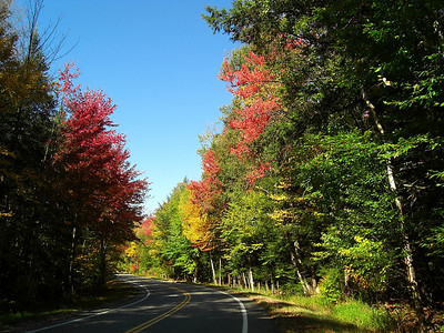 Forest Home Rd, oct 4, 2007 - left bend