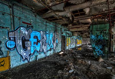 Fisher Body Plant Germo Grafitti