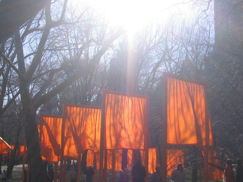 Sun and gates