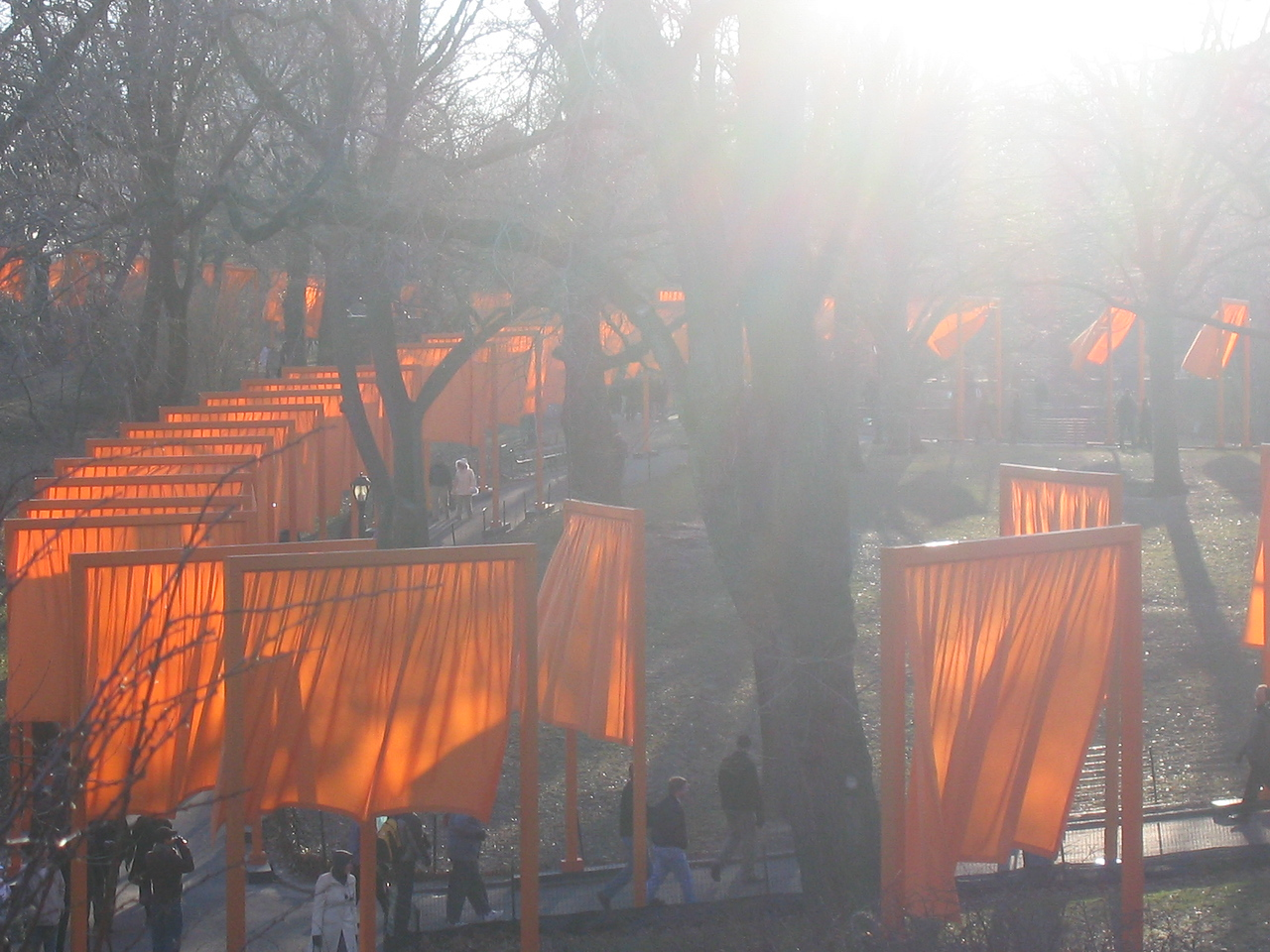 Above gates