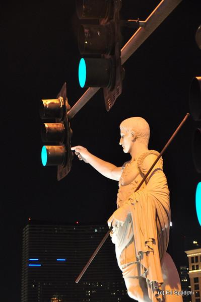 "Las Vegas<br /> Even Caesar helps with maintenance around ""The Palace""."