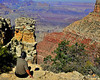 There are so many words that come to mind upon seeing the Grand Canyon for the first time: immense, magnificent, awe-inspiring, incredible.<br /> <br /> But I think the word that will stay with me the longest is humbling.<br /> <br /> Best viewed X+