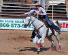 "Andy Devine Days Rodeo at Mohave County Fairgrounds, Kingman, AZ<br /> <br /> After visiting Hoover Dam, we headed south to Kingman AZ where the 26th Annual Andy Devine Days Rodeo was underway.  For a couple of eastern city-slickers, it was a grand old time.  The theme this year was breast cancer awareness and there were many women competing, such as in this barrel racing event.<br /> <br /> You may need to be ""of a certain age"" to remember Andy Devine, who was raised in Kingman.  He was a well-known character actor who portrayed many a cowboy in western movies and TV shows.  <a href=""http://www.imdb.com/name/nm0222596/"">http://www.imdb.com/name/nm0222596/</a>"