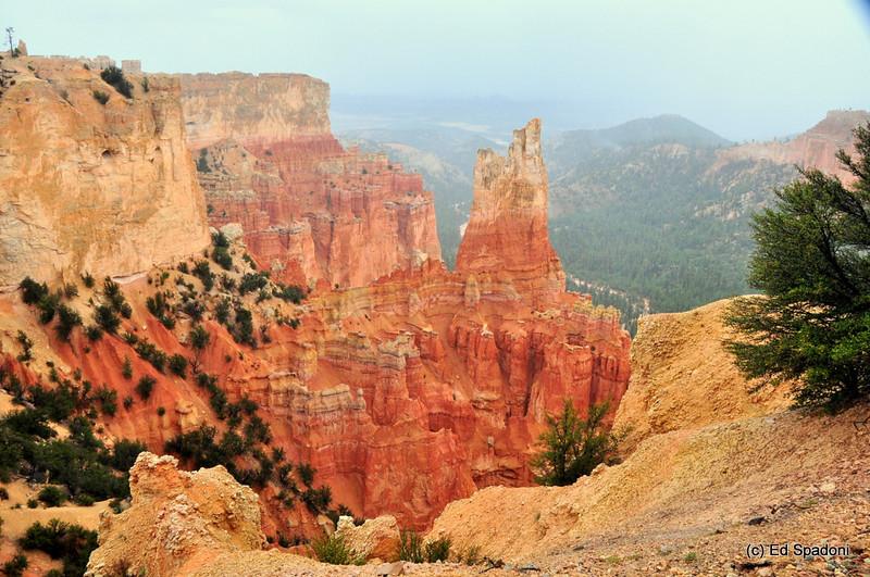 Bryce Canyon, Utah, in the rain