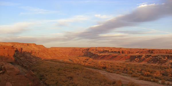 nov 7, 2007, @ 7am, Little Colorado River Gorge, Cameron, AZ