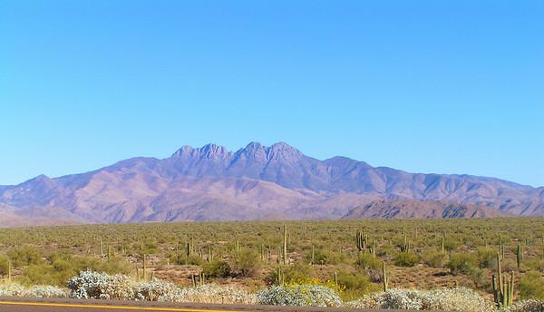 nov 30, 2006, north of Phoenix, AZ