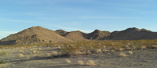 nov 8, 2007. @ 8am.  US 95. southern Nevada and the Mojave - love the desert!