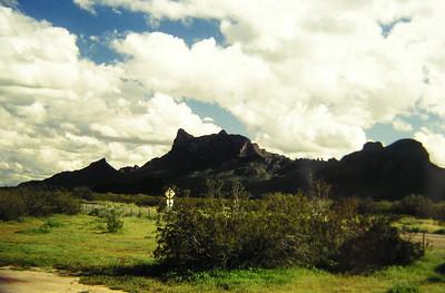 near Portal, AZ, feb 1995