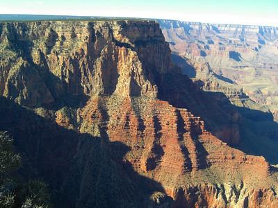 nov 7, 2007, @  10am, Grand Canyon National Park - the South Rim at Lipan Point