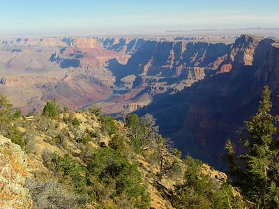 nov 7, 2007, @  9am, Desert View at Grand Canyon National Park - the South Rim