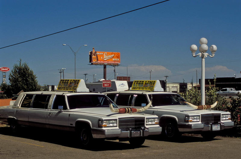 All the standard Texas things in Amarillo.<br /> Photo © Carl Clark