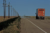 On the road to Boise City in the Oklahoma Panhandle.<br /> Photo © Carl Clark