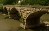 A rare triple-arched stone bridge in rural Kansas.<br /> Photo © Cindy Clark