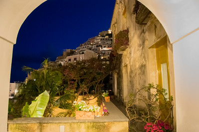 A WINDOW TO POSITANO