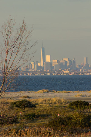 New York City from Sandy Hook