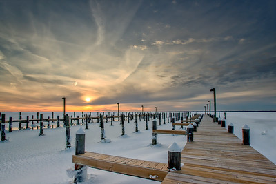 #891 Frozen Barnegat Bay