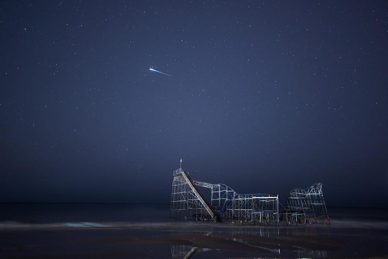 #367 Satellite Flare over Jet Star