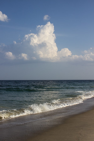 Clouds and Surf