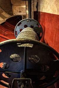 Miles of rope spooled and used in the Midway's lifetime.