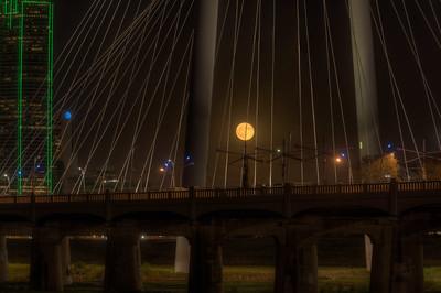 Full Moon at Trinity Groves