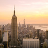 New York City Skyline - Sunset Over Midtown Manhattan