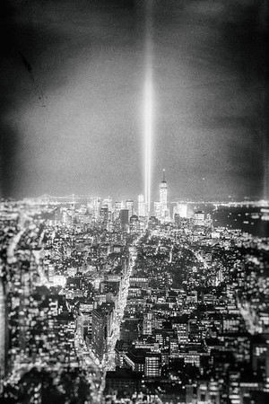 New York City - Tribute in Light - World Trade Center