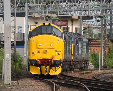 37409, 37069 and 37259. Crewe North Junction.