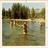 1971 - Swimming in Tuolumne Meadows, Yosemite