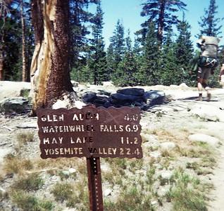 1970 - Backpacking at Yosemite