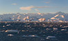 Zodiac cruising at Cape Roget, Antarctica