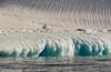Zodiac cruising near Campbell Glacier, Antarctica