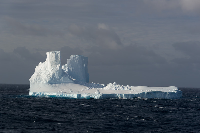 Icebergs in the Ross Sea